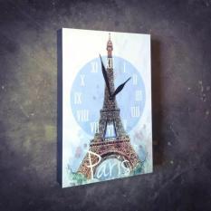 Hiasan Dinding / Jam Dinding / Pictbox / Wall Decor / Pajangan Dinding - Paris Menara Eiffel