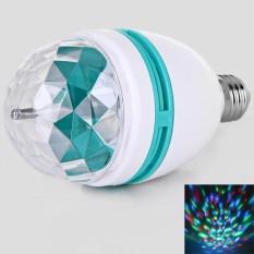 Jual High Brightness Ly 399 Ac85 260V Colorful 3 X 1W Led Rotating Lamp Intl Import