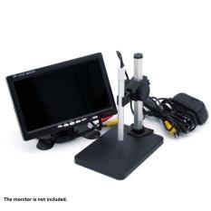 High Definition Digital Mikroskop Pembesaran 1-600X Magnifier Alat Pembesar Pen Gaya HD 2.0MP Video AV Interface Built-In 6 Lampu LED A006-Intl