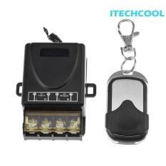 Tinggi Daya Ac 220 V 1 Ch Remote Relay Switch Pompa Pintu Controller Intl Terbaru