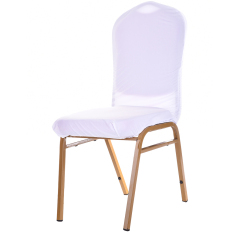 High Quality Promotion New White Stretchy Chair Case Removable Coverings Chair Protector Seat Covers Spandex For Wedding Banquet Motel - intl