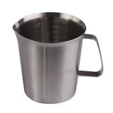 Spesifikasi High Quality Stainless Steel Milk Measuring Cup Coffee Frothing Jug 1000Ml Beserta Harganya