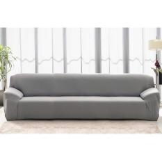 Tinggi Kualitas Store Baru Fashion L-shape Spandex 4 Seaters Sofa Cover Furniture Pelindung Sofa Sarung Rumah Dekorasi