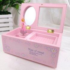 Harga Tinggi Kualitas Store Baru G*rl Kotak Musik Musik Anak Anak Kotak Perhiasan Rectangle Dengan Romantis Ballerina