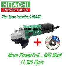 Jual Hitachi Mesin Gerinda Tangan G10Ss2 1Pcs Batu Gerinda Bosch Best Hitachi Branded