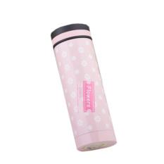 HKS Cute Flower 304 Stainless Steel Vacuum Thermal Flask 300ML (Pink)
