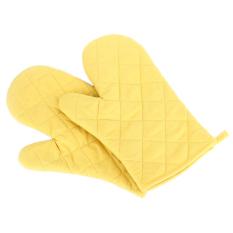 HKS Dapur Memasak Panas Proof Protector Pot Pemegang Sarung Tangan Kuning-Intl