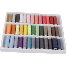 HKS Gulungan Warna Yang Berbeda Polyester Bordir 39 Pieces Campuran Warna