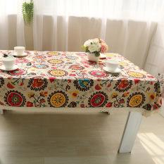 Hi Kualitas Tinggi Yang 100X140 Lacework Taplak Meja Multifungsi Taplak Meja Makan untuk Pesta Outdoor Piknik