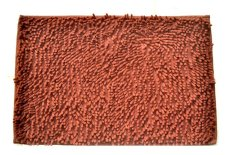 Hokki Keset Cendol Microfiber Ukuran 40x60cm - Coklat Tua