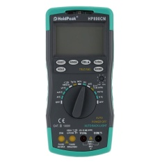HoldPeak HP-890CN LCD Digital Multimeter DMM with NCV Detector DC AC Voltage Current Meter Resistance Diode Capaticance Tester Temperature Meaurement Auto Range - intl