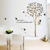 Review Tentang Home Decor Wallsticker Sticker Dinding Ay9055 Colorful