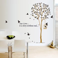 Review Toko Home Decor Wallsticker Sticker Dinding Ay9055 Colorful Online
