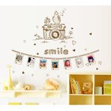 Toko Jual Home Decor Wallsticker Stiker Dinding Camera Photo Frame Jm7297 Colorfull