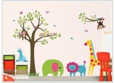 Promo Home Decor Wallsticker Stiker Dinding Df5071 Multicolor Home Decor
