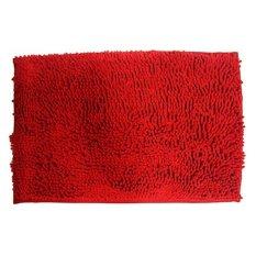 Home-Klik Keset Cendol Bahan Microfiber 40 x 60 cm - Merah