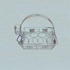 Beli Home Line Rak Aqua Gelas Segi 12 Cup Cicilan