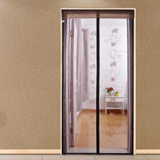 Mimosifolia Rumah Ruang Tamu Kamar Tidur-tirai Panas Musim Nyamuk Layar Magnetik Enkripsi Layar Pintu