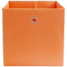 Toko Home Living Kotak Storage Box Penyimpanan Serbaguna Orange Termurah