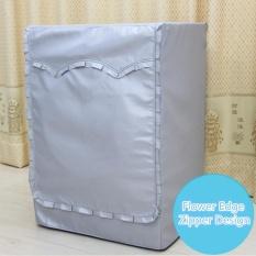 Home Tabir Surya Mesin Cuci Cover Pengering Cucian Polyester Silver Coating Otomatis Turbin Roller Dustproof Tahan Air Casing-Intl