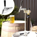 Jual Cepat Homebrew Keg Tap Long Shank Adjustable Flow Control Draft Beer Dispenser Faucet Intl