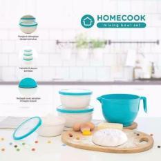 Homecook Mixing Bowl Set / Wadah Mixer atau Adonan Kue