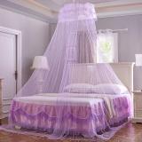 Ongkos Kirim Honana Wx M01 Ceiling Kelambu Elegan Romantis Round Dome Gantung Tirai Renda Bed Canopy Di Tiongkok