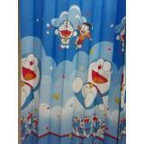 Harga Hordeng Gorden Karakter Pintu Jendela Doraemon Biru Terbaik