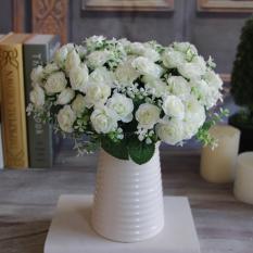 Menawan 15 Tunas 1 Buket Mawar Buatan Sutra Bunga Dekorasi  PengantinIDR38000. Rp 38.000 e9b2c52a0c