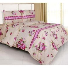 HOT PROMO Bed Cover Set Katun Jaxine Katherine Salem 180X200x20 D700