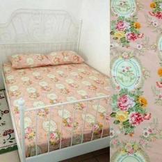 HOT PROMO Bed Cover Tanpa Sprei Katun Jaxine Shabby Salem Single 160X240 Cm E696