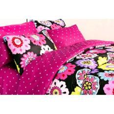 HOT PROMO Bed Cover Tanpa Sprei Katun Jaxine Single Alexa Fanta 160X240 E752
