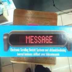 HOT SALE - JUAL RUNNING TEXT LED- MOVING SIGN