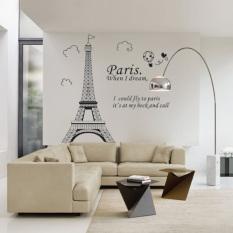 Toko Diskon Besar Besaran Rumah Paris Menara Eiffel Dekorasi Kamar Wall Sticker Stiker Gaya Vinil Yang Dapat Dilepas Intl Online Indonesia