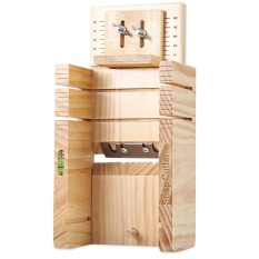 Toko Household Wooden Soap Cutter Box Pine Material Balancing Apparatus Accurate Wire Cutting Adjustable Front Board Deep Yellow Intl Termurah Tiongkok