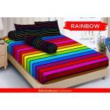 Beli Hs Sprei Kintakun Dluxe Motif Rainbow Sprei Murah Online