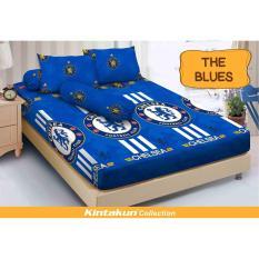Spesifikasi Hs Sprei Kintakun Dluxe Motif The Blue Bagus