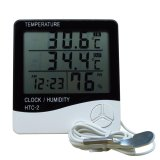 Htc 2 Digital Multifunction Thermometer In And Out With Hygrometer Putih Promo Beli 1 Gratis 1