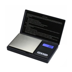 huohu Jewelry Scale Digital Pocket Scale 200 By 0.01gm For Reloading Kitchen Jewellery Gold Or Coins - Black - intl