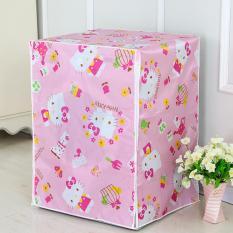 Harga Hw Cover Mesin Cuci Buka Depan Type B Pink Online