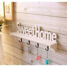 HW Rak Dinding Hiasan Vintage Sweet Home Serbaguna Dekorasi