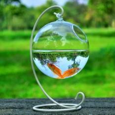 Jual Hydroponic Wall Hanging Bubble Aquarium Fish Glass Diy Pot Vase Plant Home Decor White Intl Tiongkok Murah