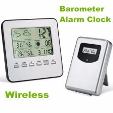Hygrometer Thermometer Wireless Weather Station Barometer Higrometer Termometer  Perkiraan Cuaca