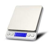 Ulasan Tentang I2000 3Kg 1G Mini Digital Scale Stainless Steel Platform Weighing Tool With Tray Intl