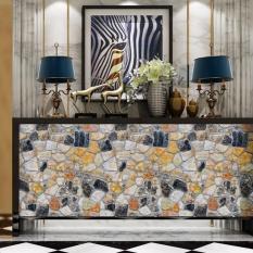 Ibelieve 45*100 Cm Vintage Batu Bata Pola Self Adhesive Waterproof Wallpaper untuk Kamar Tidur Ruang Tamu Kitchen Furniture Decor (14 #) -Intl