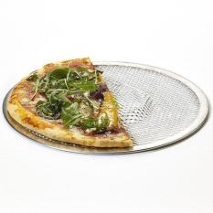 Ibelieve 8 Inch Aluminium Flat Mesh Layar Pizza Oven Baking Tray Bersih Bakeware Cookware-Intl