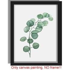 Ibelieve Tanaman Baru Art Print Poster Hijau Daun Lukisan Di Dinding Kanvas Gambar untuk Ruang Tamu Dekorasi Rumah (# 3) -Intl