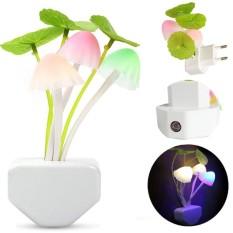 Icantiq Mushroom LED Night light Bed Saving Sensor 3 LED Light Lamp Romantic / Lampu Tidur LED Sensor Cahaya Lampu Jamur Lampu Bunglon / Lampu Tidur / Lampu Unik / Lampu Dingding / Lampu Warna / Lampu Jamur 3 Warna - 3 Warna Jamur