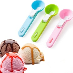 Ice Cream Spoon Scoop Sendok Es Krim Buah - Random Colour