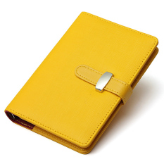 Daftar Harga Identitas Pribadi Susu Kulit Kait Buku Catatan Agenda Filofax Hadiah Kuning Oem